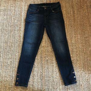 1822 Denim Cropped Jeans
